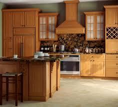 furniture amazing semi painted blonde cabinets kitchen wood