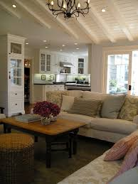 Lighting For Beamed Ceilings Open Beamed Ceiling Designs Living Room Traditional With Wood