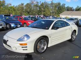 mitsubishi eclipse coupe 2003 mitsubishi eclipse gts coupe in dover white pearl 033848