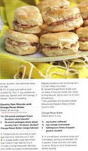 paula deen u0027s ham biscuits with orange pecan butter recipes