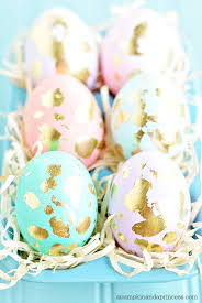 gold easter eggs gold leaf easter eggs a pumpkin and a princess