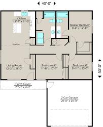 Efficient Floor Plans by Lexar Homes Custom Energy Efficient Home Builder 1200b