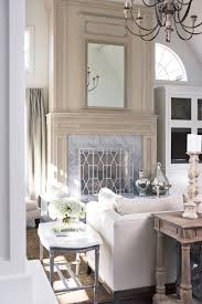 Custom Built Sofas French Country Sofa Spaces With Antique Mirror Custom Built Ins