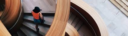 Make All From Wood Stairs That Make A Statement In Your Office Nydree Flooring