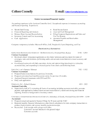 Document Controller Sample Resume by Resume Of Financial Controller Free Resume Example And Writing