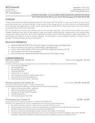 Creative Engineering Resume Network Engineer Resume Sample Sidemcicek Com