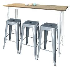 Tolix Bar Table Tolix Bar Table White Silver Stoolsjpg Bar Tables And Stools Pub