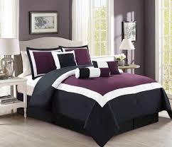 Black And Purple Comforter Sets Queen Purple And Black Bedding Sets U2013 Ease Bedding With Style