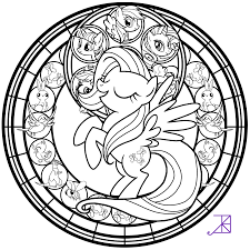 coloring stained glass coloring sheets