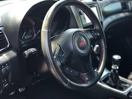 subaru rsti interior interior car detail car detailing red line detailing phoenix