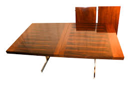 alfred hendrickx belgian mid century rosewood expandable dining