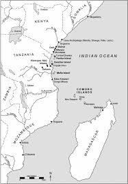 Map Of Eastern Africa by Fifty Years In The Archaeology Of The Eastern African Coast A