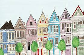 san francisco victorian colorful houses painted ladies