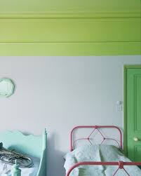 Lime Green And Turquoise Bedroom 22 Clever Color Blocking Paint Ideas To Make Your Walls Pop