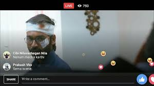 facebook live is now being used to stream pirated movies and sport