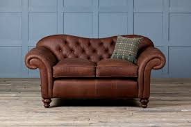 old bessie leather chesterfield sofa authentic furniture