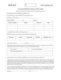 newfoundland vacation property rental application legal forms