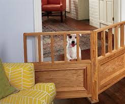 How To Build A Solid Wood Door 13 Diy Dog Gate Ideas Spartadog Blog