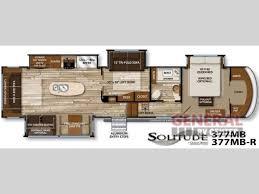 5th Wheel Camper Floor Plans 9 Best Fifth Wheel Floorplans Images On Pinterest Fifth Wheel
