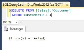 Delete From Table Sql Prevent Accidental Table Data Deletion In Sql Server Management Studio