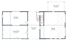 Dogtrot House Floor Plans Contemporary Barn House Plans The Montshire