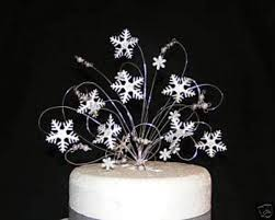snowflake cake topper top winter wedding cake toppers with winter wedding owl cake