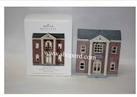 hallmark 2012 library nostalgic house and shops special