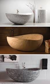8 stunning examples of bathtubs made from solid stone contemporist