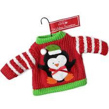 penguin sweater ornament the sweater shop