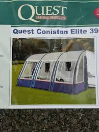 390 Porch Awning New Quest Coniston Elite 390 Awning In Lichfield Staffordshire