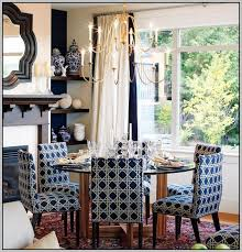Blue Upholstered Dining Room Chairs Insurserviceonlinecom - Navy blue dining room