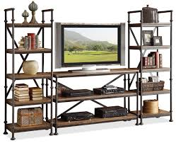 Badcock Lake Worth Fl by Riverside Furniture Camden Town Open Entertainment Wall Unit With