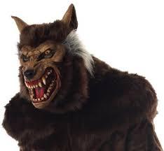 the bizarre and weird fierce halloween masks werewolf spike clown