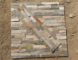 P Slate Wall Stone Cladding Corner Prices Cultured Stone - Stone backsplash tiles