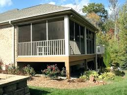 house kits lowes screened in porch kits lowes screened porch kits patio mate screen