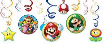 Super Mario Decorations Super Mario Party Supplies