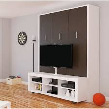 Murphy Bed Shelves Aliance Murphy Bed With Tv Stand In American Oak By Manhattan