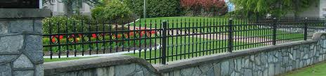 aluminum steel wrought iron ornamental fence