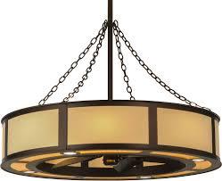 meyda tiffany 149154 maplewood beige linen mahogany bronze home