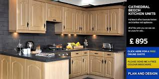 cheap kitchen cathedral beech affordable cheap kitchens
