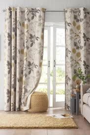 Vintage Eyelet Curtains Buy Botanical Floral Print Eyelet Curtains From The Next Uk