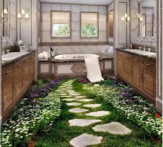 3d wallpaper custom waterproof self adhesion bathroom bedroom 3 d