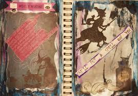 halloween journal running away