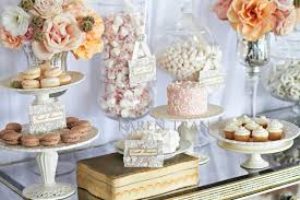Pink Wedding Candy Buffet by Love Is Sweet Elegant Dessert And Candy Table San Diego