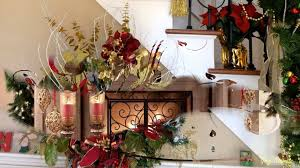 christmas home decoration ideas glorious christmas home decorating ideas youtube