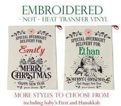 personalized santa sack personalized santa sack monogram christmas sack christmas gift