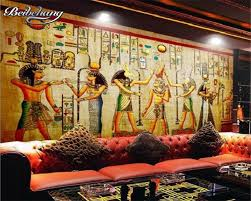 Ancient Egypt Interior Design Buy Egypt Wallpaper And Get Free Shipping On Aliexpress Com