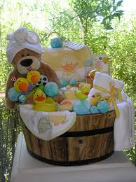 baby gift baskets white horse relics unique themed baby gift