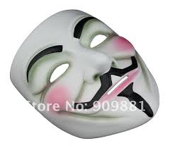 movie v mask for vendetta anonymous mascara mask cosplay face guy