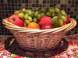 fruit basket easy dyi fruit basket gift idea melanie cooks